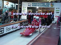 Bobbahn Altenberg Start