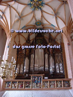 Orgel in der Annenkirche